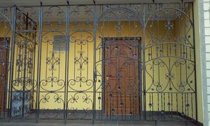 Кованые решетчатые двери