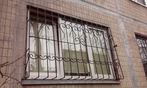 Решетка на окна гнутая