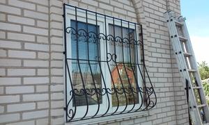 Сварная луковичная оконная решетка
