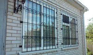 Решетки на окна сварные